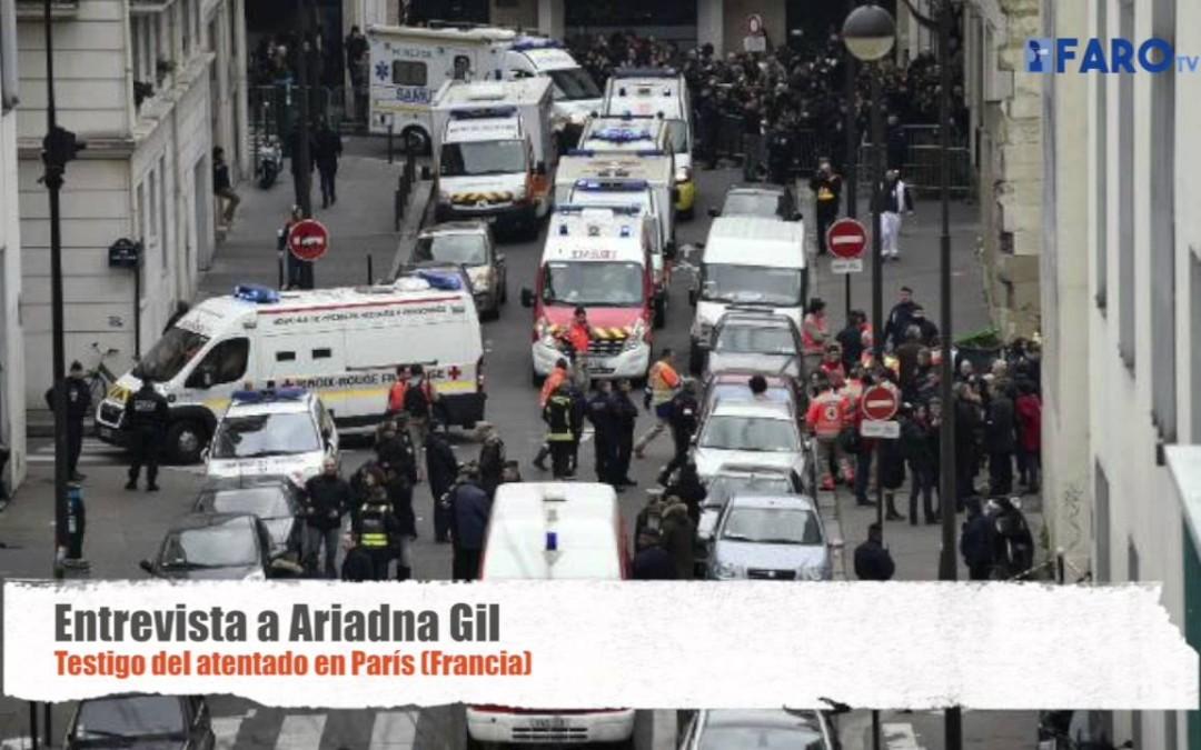 Entrevista a Ariadna Gil testigo en Francia