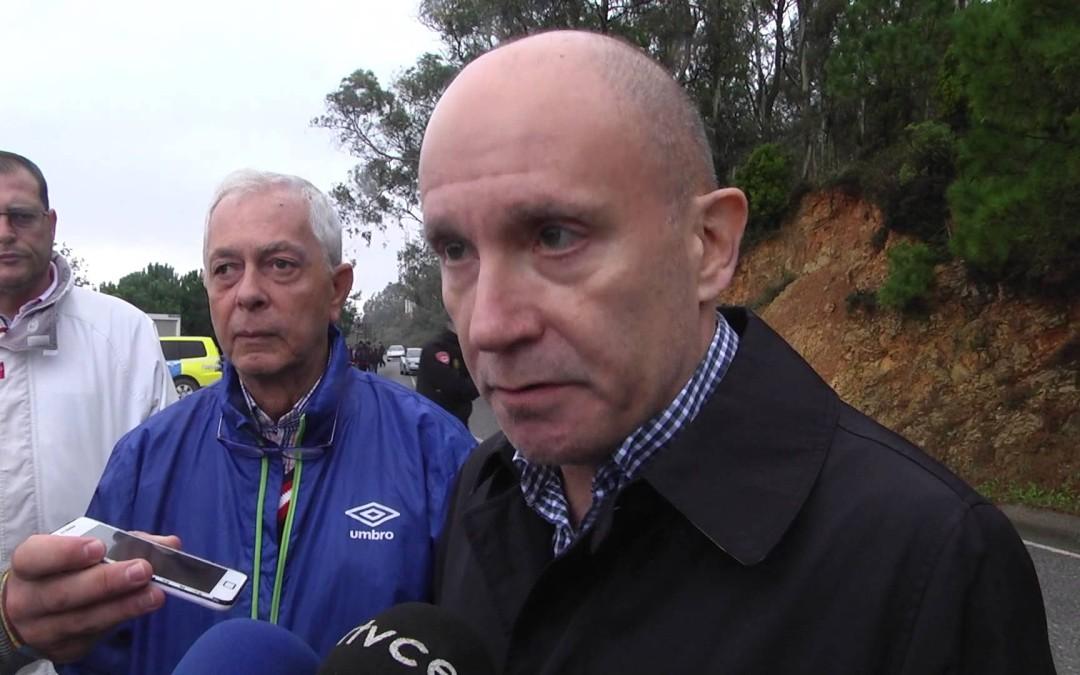 El delegado del Gobierno visitó las zonas más afectadas por la lluvia