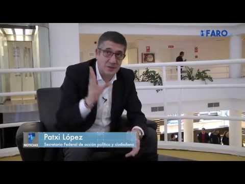 Patxi López visita Ceuta. Entrevista