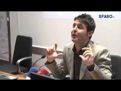 Conferencia 'Empresas periodísticas' de Jesús Cintora, periodista de Cuatro Televisión en la UNED