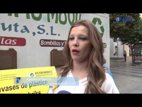 Ecoceuta informa a los ceutíes sobre el reciclaje
