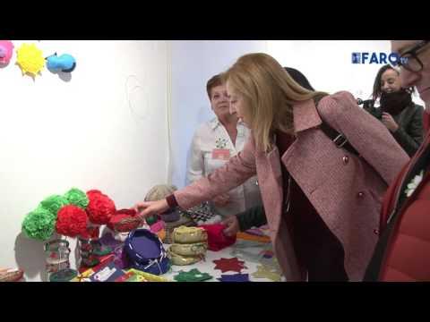 Inauguración del V Mercadillo Solidario de AECC