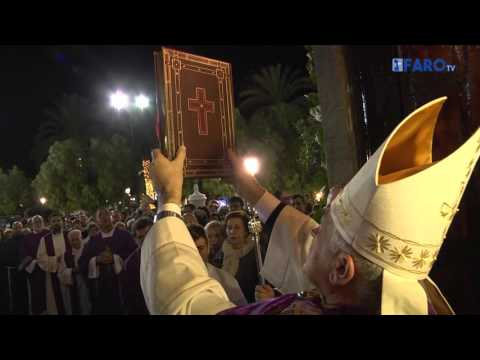 El año santo ha llegado a Ceuta, procesión del Cristo de los Afligidos