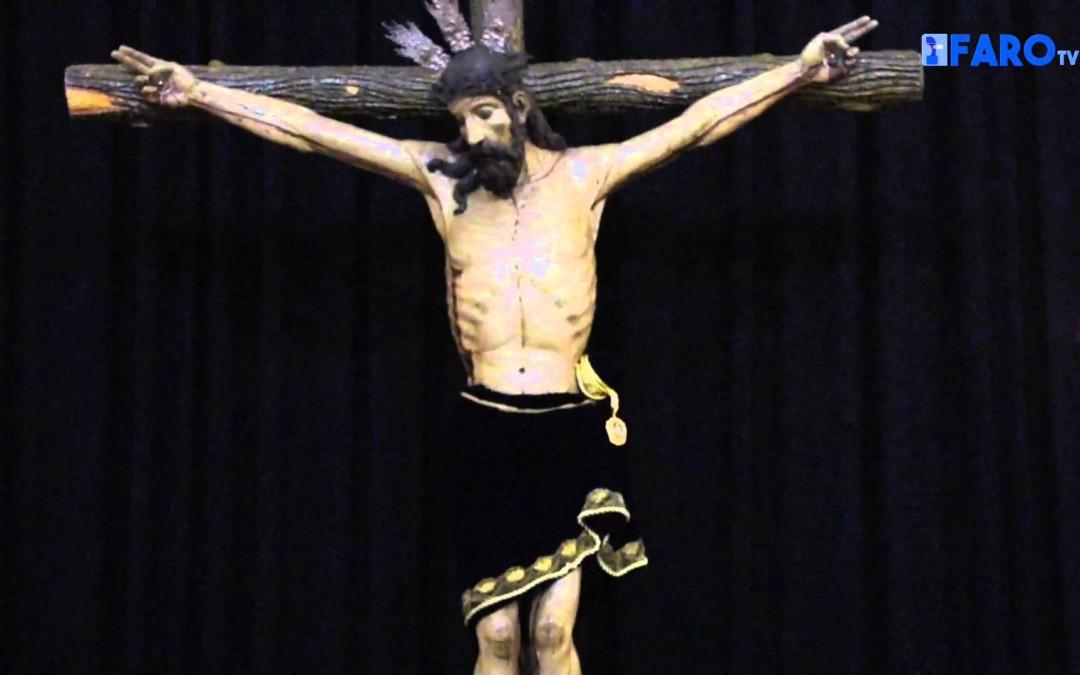 La Iglesia de África acoge la celebración del Devoto Besapiés de la Hermandad del Santísimo Cris