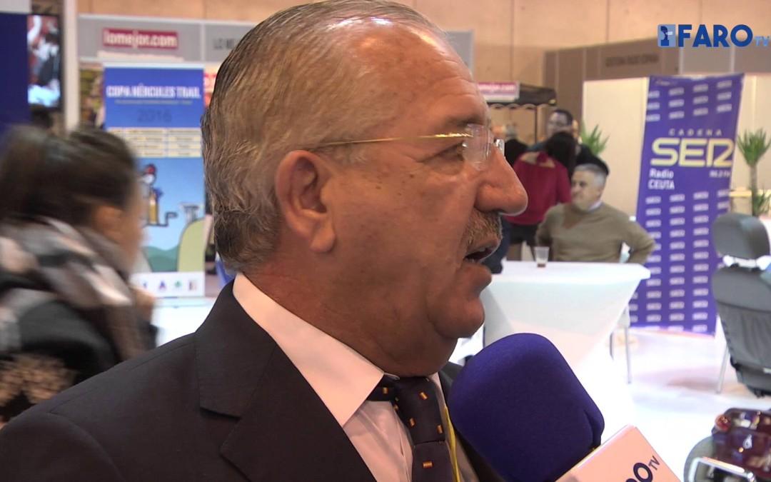 Entrevistamos a José Torrado, presidente de la Autoridad Portuaria, en Fitur