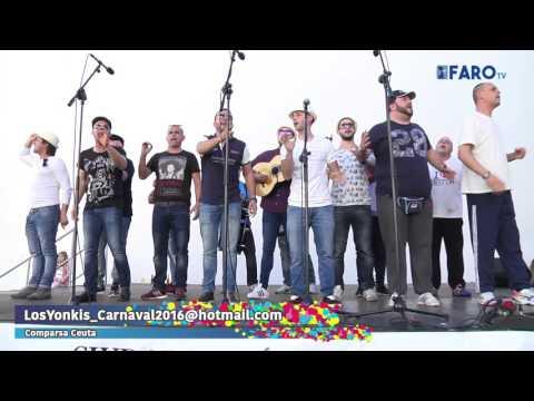 'Los Yonkis', comparsa de Ceuta en la Mejilloná
