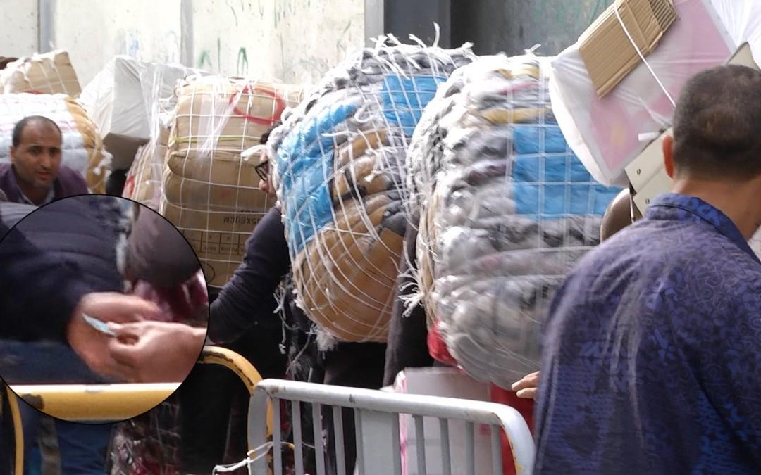 La guerra de los tickets en el polígono del Tarajal