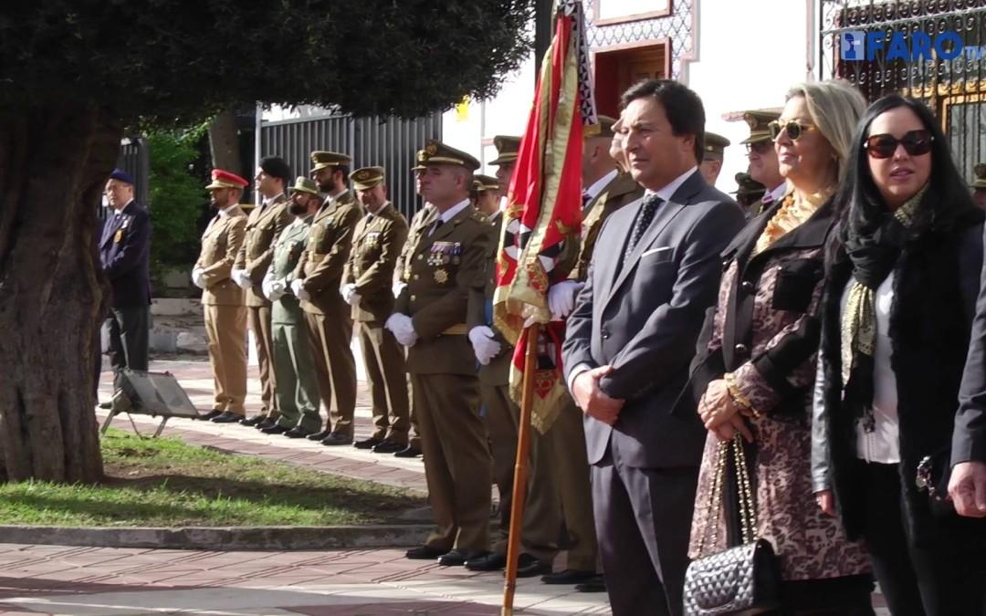 Celebración de la festividad de la Pascua Militar en la plaza de África