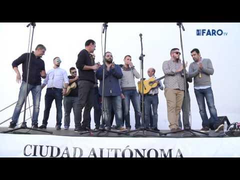 'El Quijote del Estrecho', comparsa de Ceuta en la Mejilloná