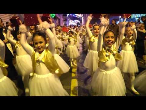 Cabalgata de los Reyes Magos en el Centro de la Ciudad