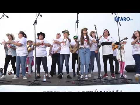 'Los Castratis', comparsa de Ceuta en la Mejilloná