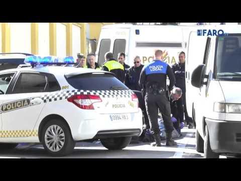 Un motorista fallece en accidente de tráfico en la Avda. Ejército Español