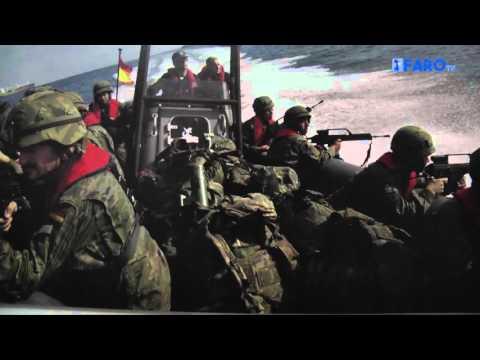 El Casino Militar ha acogido la exposición fotográfica 'La logística militar en Ceuta'