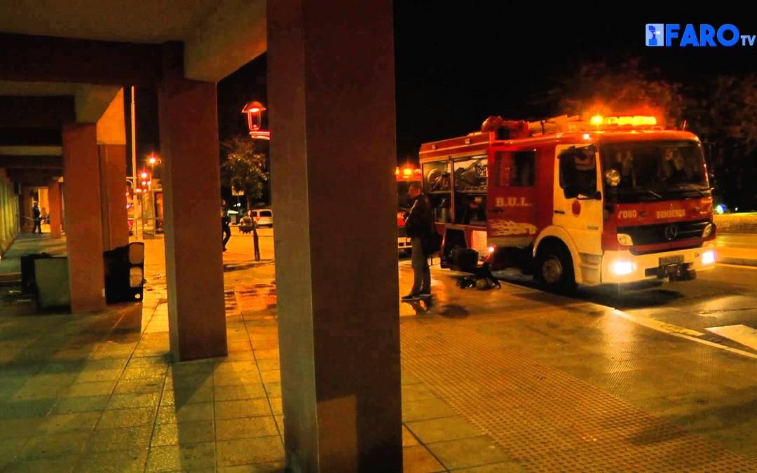 Arde una tienda de Muebles en Puertas del Campo