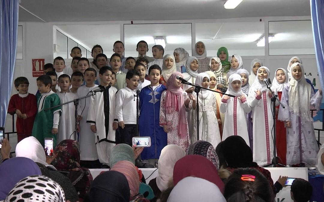 La comunidad del Colegio Abi Al Hassan Acharri celebra una fiesta en Sidi Embarek