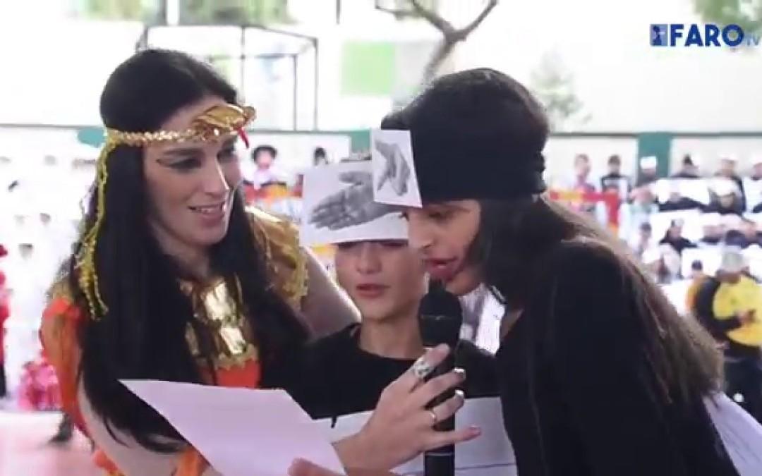 Acto en el colegio García Lorca por motivo de la celebración del día de la Paz y del Carnaval-