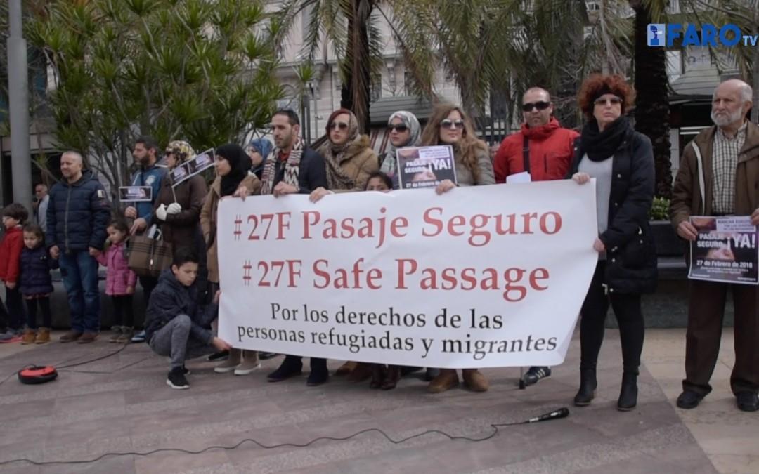 Concentración #27F por un pasaje seguro de migrantes y refugiados