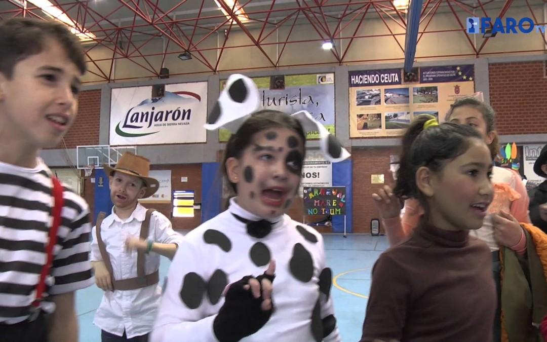 El colegio 'Mare Nostrum' celebra el Carnaval por todo lo alto