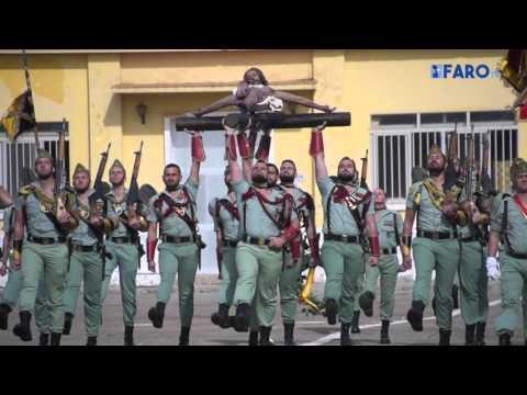 El acuartelamiento García Aldave ha acogido un acto del tradicional Sábado Legionario