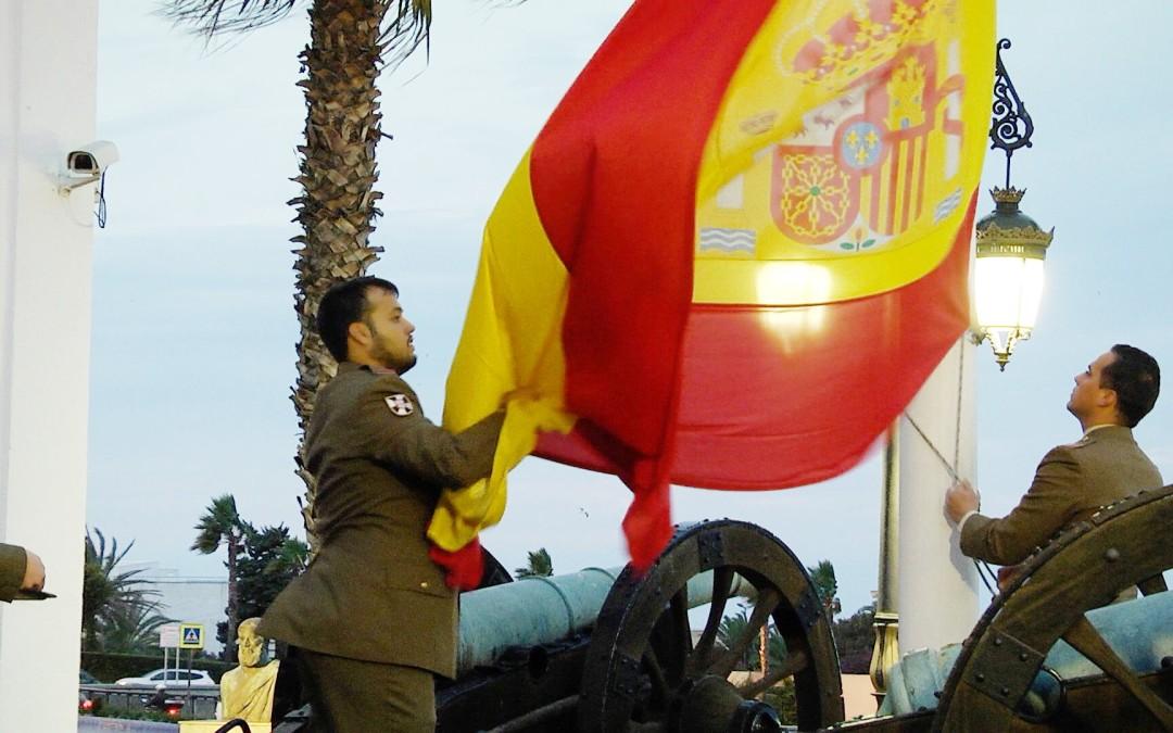 Arriado de bandera del Regimiento de Caballería 'Montesa' nº3 por su 310 aniversario