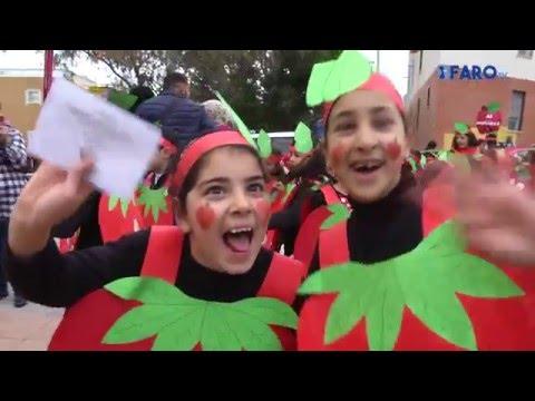 El CP 'Reina Sofía' celebra el Carnaval con un pasacalles 'Frutal'