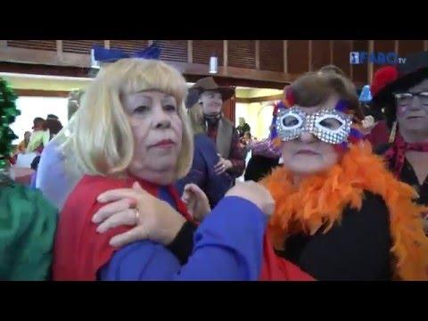 Los mayores celebran su tradicional fiesta de Carnaval