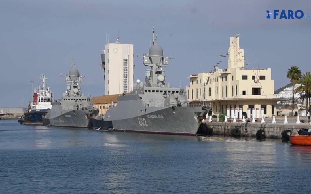Nuevos buques rusos atracan en Ceuta