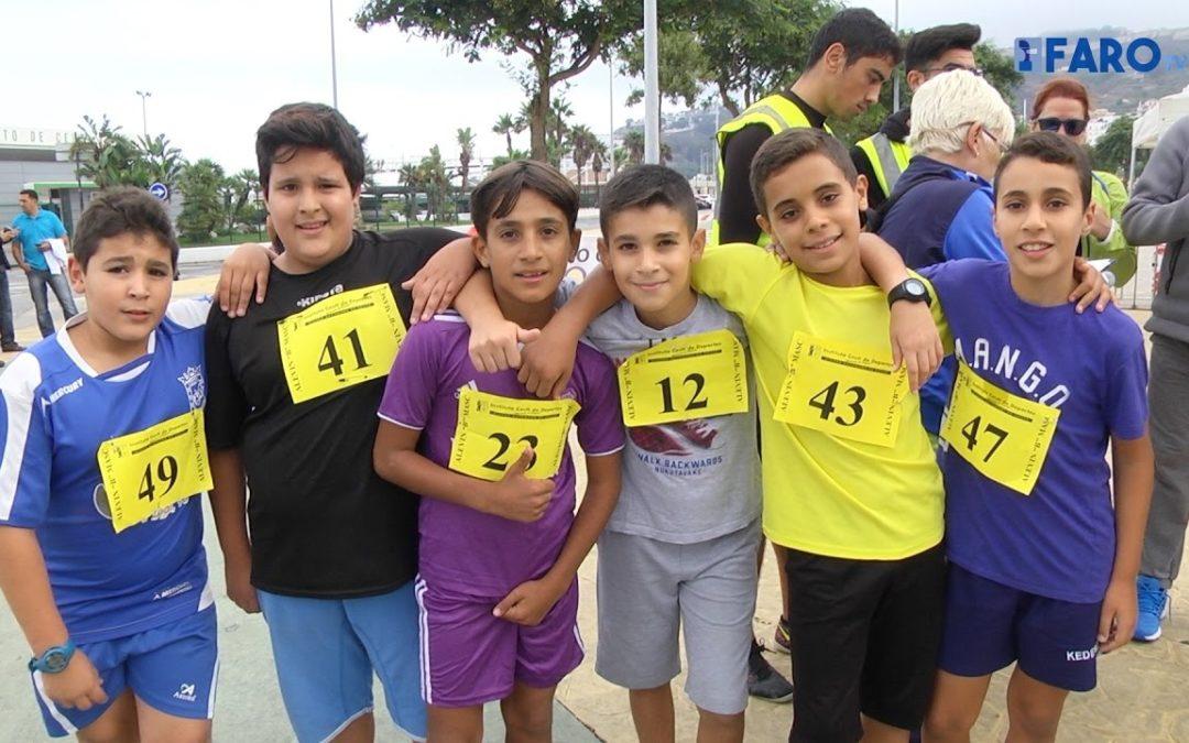 Unos 1.200 atletas participan en los 100 Metros Urbanos