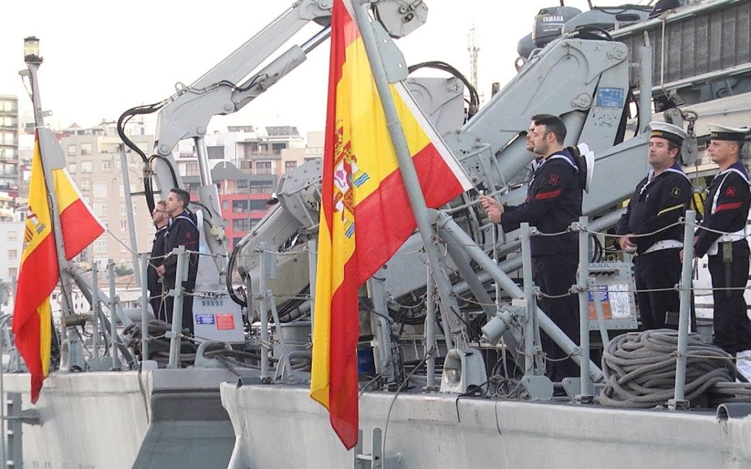 Las unidades de Medidas Contraminas, de visita en Ceuta
