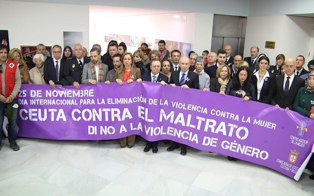 Ceuta conmemora el 25N marcado por un nuevo asesinato
