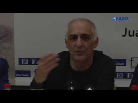 Aróstegui presenta su nuevo libro 'Rabiosa esperanza.  Ceuta contra sí misma'