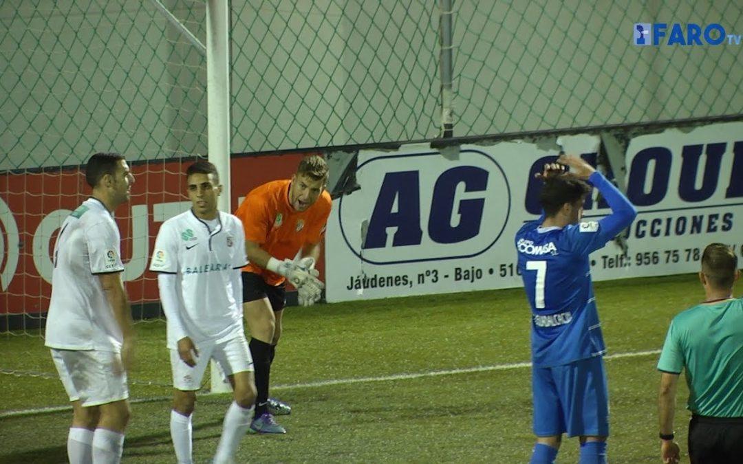 El Ceuta FC sufre para ganar al Guadalcacín. AD Ceuta 2-1 CD Guadalcacín