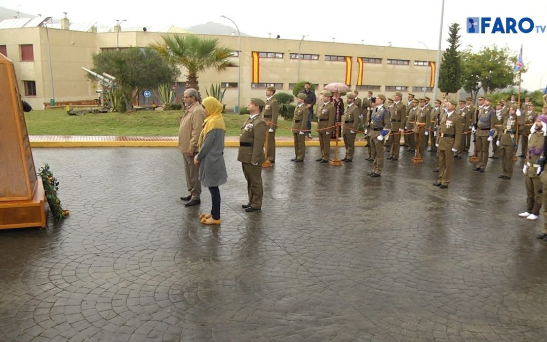 Homenaje al soldado Said Mustafa en el XIX aniversario del Batallón del Cuartel General