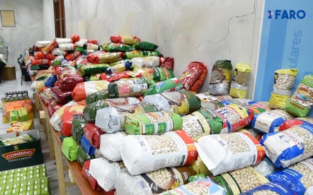 NNGG consigue casi la tonelada de alimentos en su campaña solidaria navideña