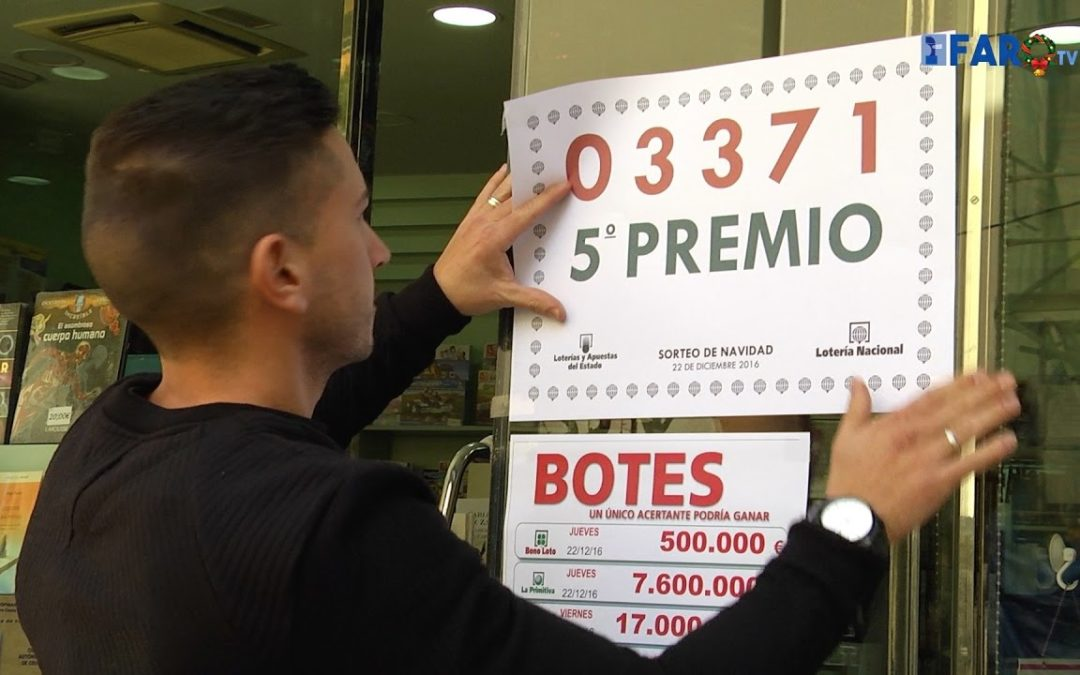 La Librería Cervantes vende un décimo de un quinto premio, 03.371