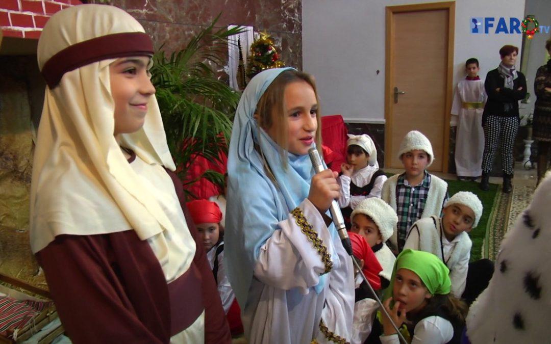 Belén viviente en la capilla de Santa Beatriz de Silva