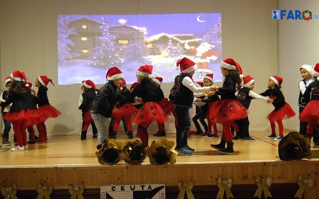 Alumnos del 'Lope de Vega' cantan a la Navidad