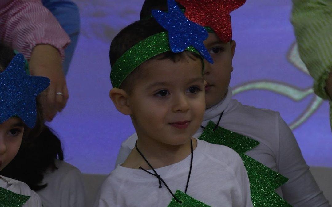 Infantil del CEIP Lope de Vega canta a la Navidad