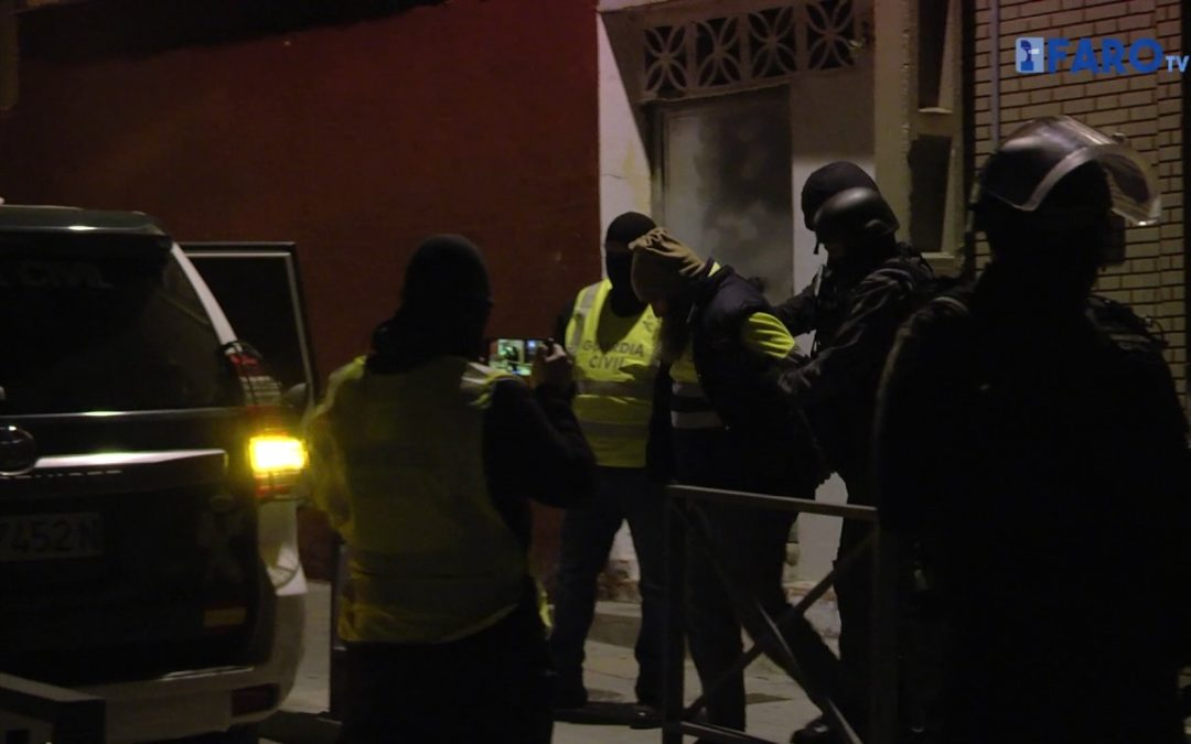 Operación antiterrorista en Ceuta con dos detenidos