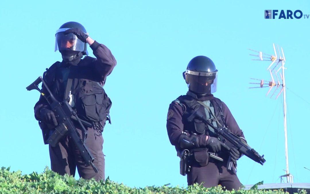 La Guardia Civil busca un zulo con armas en la operación antiterrorista