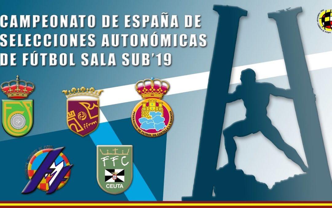 Primera jornada del Campeonato Nacional Juvenil de Fútbol Sala