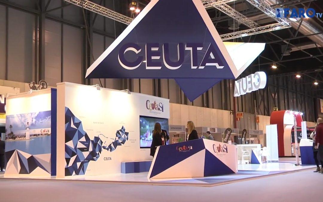 El stand de Ceuta en FITUR mejora su ubicación este año