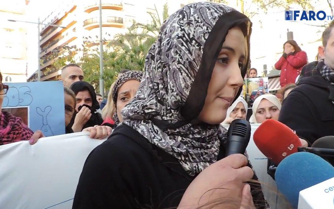 Un centenar de personas pide justicia para Yassin