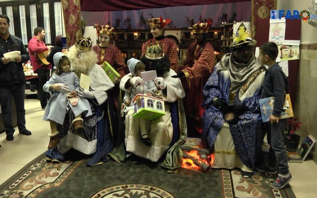 Los Reyes Magos visitan la 'Amargura'