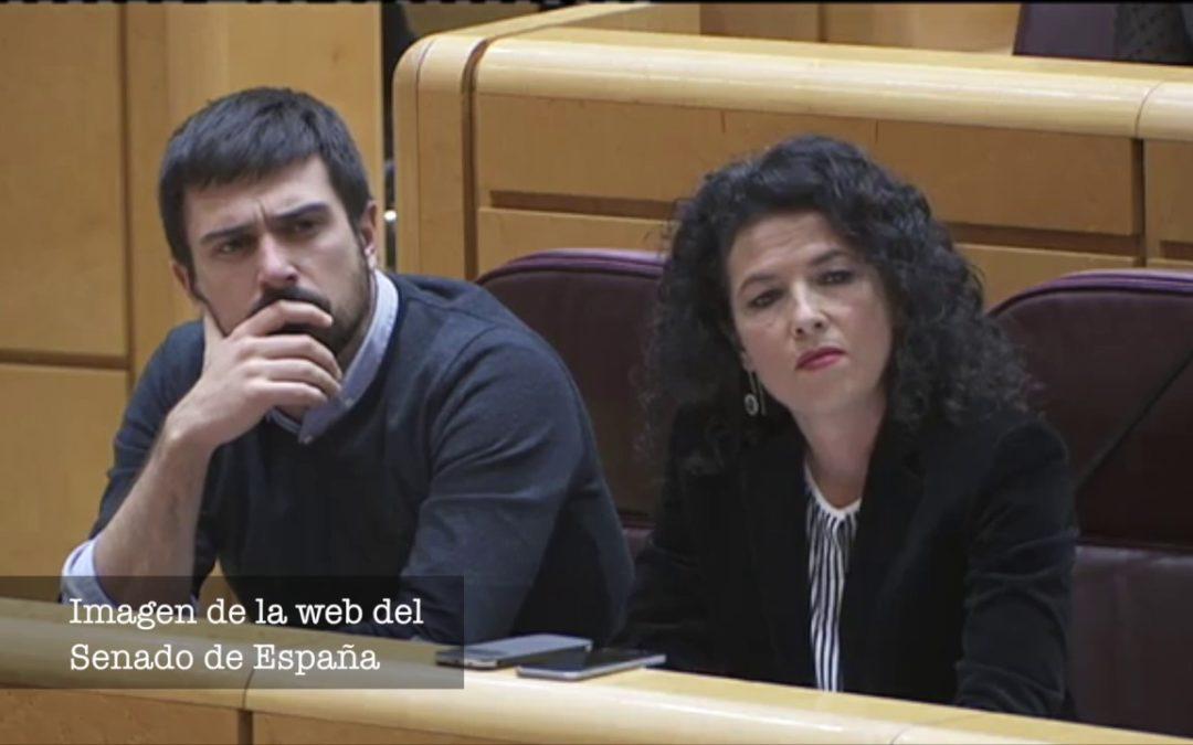 Pregunta en el Senado sobre los protocolos de la Guardia Civil en fronteras de Ceuta y Melilla