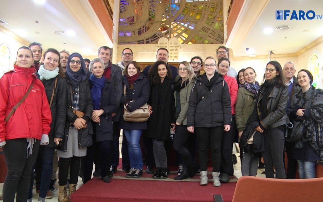 Estudiantes de Viena, interesados en la diversidad de Ceuta
