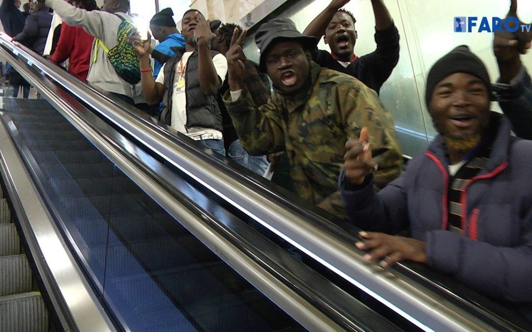 Salida de 80 subsaharianos a la península