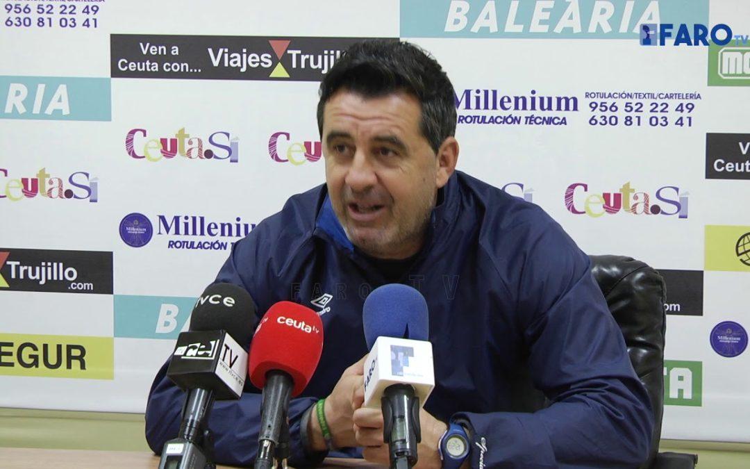 """Juan Ramón: """"Estamos teniendo partido tras partidos, finales"""""""