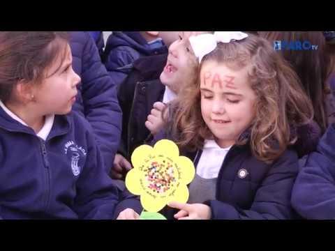El colegio 'La inmaculada' de Ceuta celebra el Día de la Paz