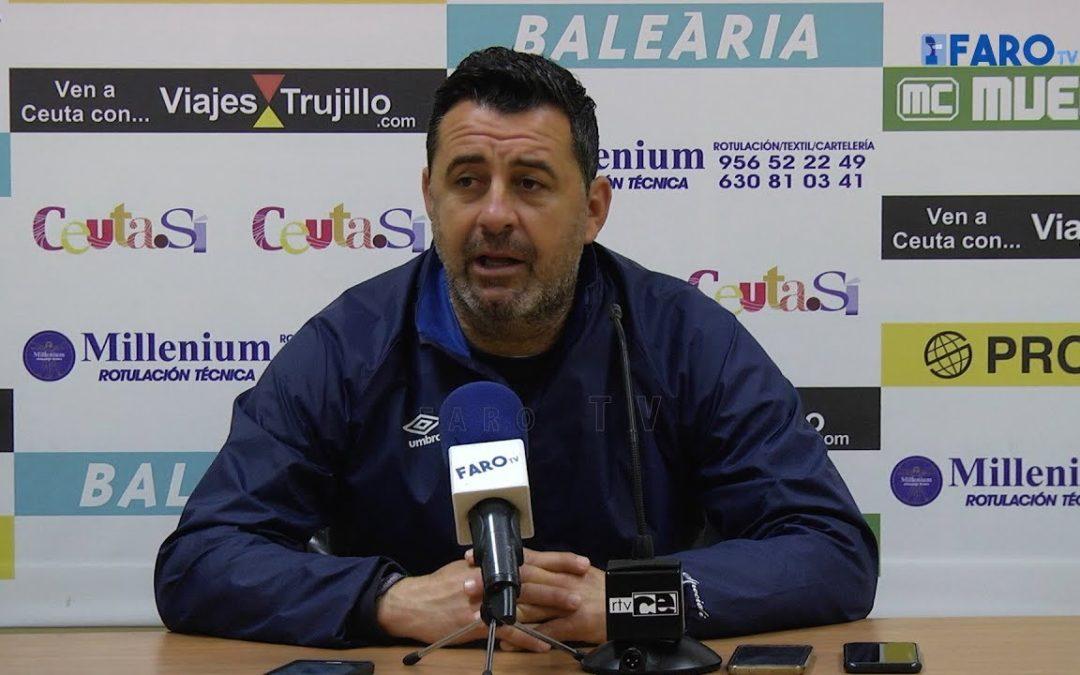 """Juan Ramón: """"El primer objetivo es distanciarnos de los de atrás"""""""
